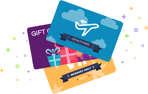 Generic Loyalty, Gift, and Membership Card